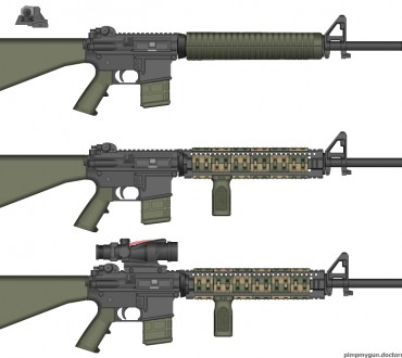 A Visual of My Next AR15's Configuration