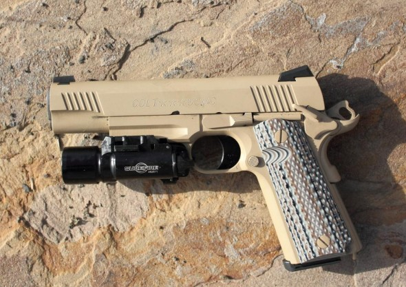 LooseRounds Reviews the Colt M45A1 Marsoc 1911