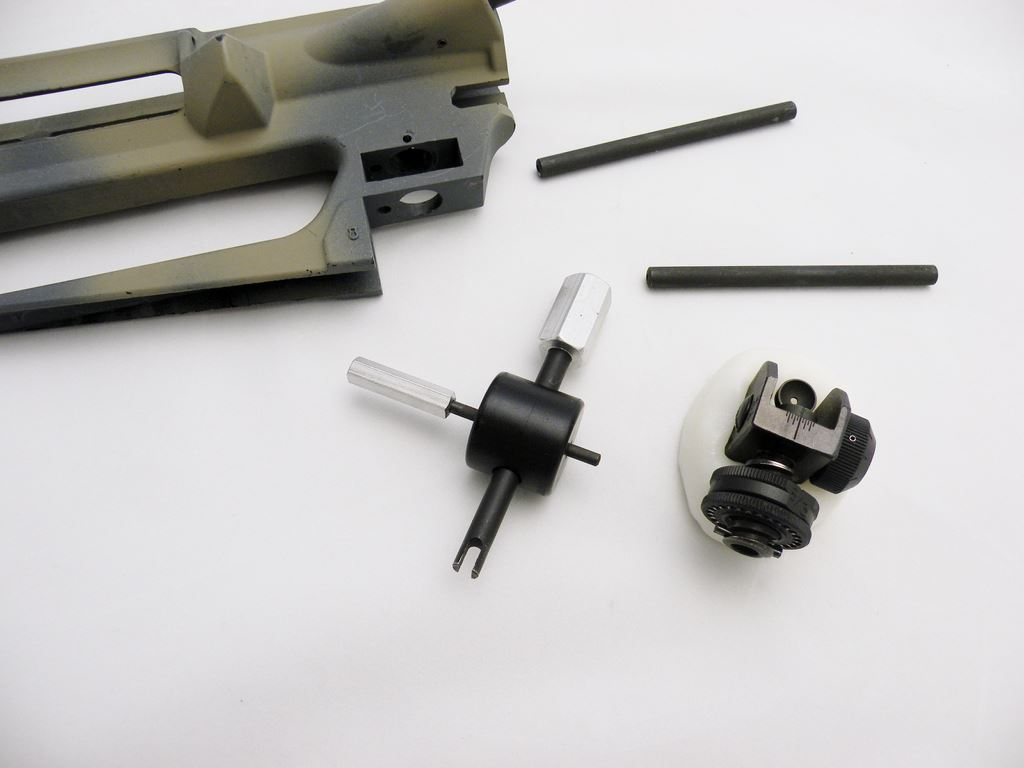 Installing the A2 Rear Sight: A Visual Guide