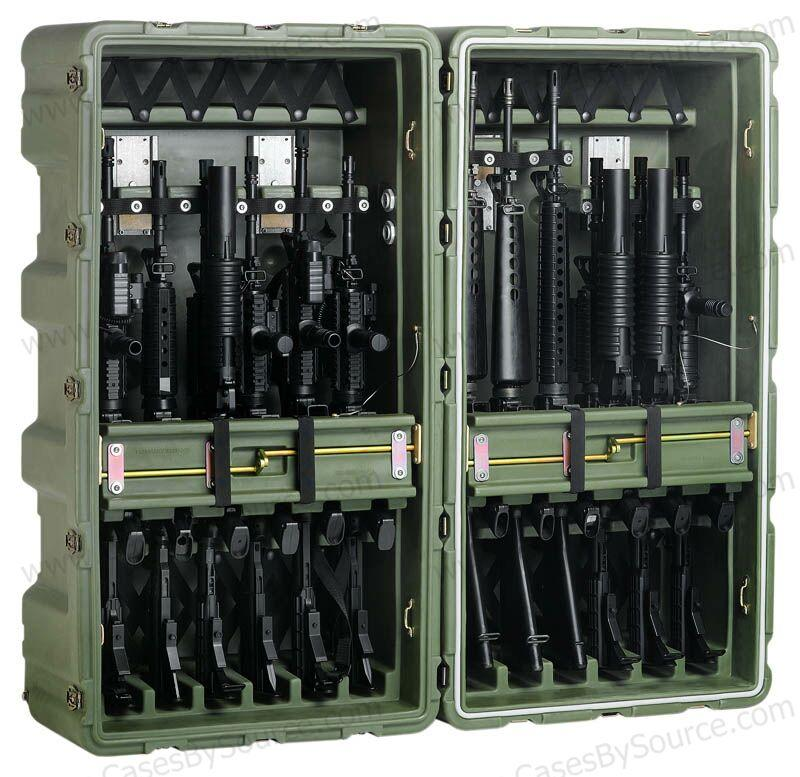 Need A Case To Hold Your 12 M16's? Pelican Has Your Answer
