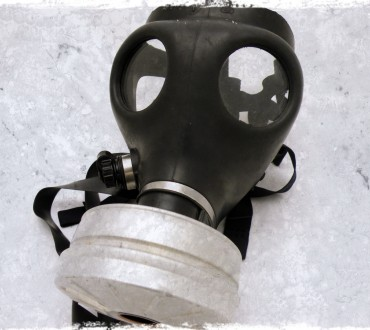 Shooting With Gas Masks