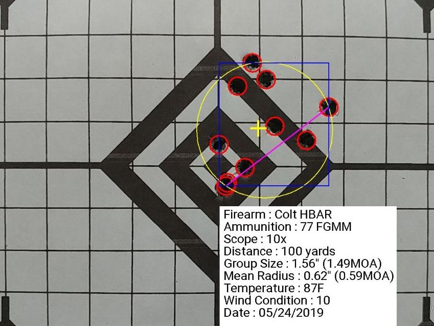 Colt Barrel HBAR FGMM 77gr