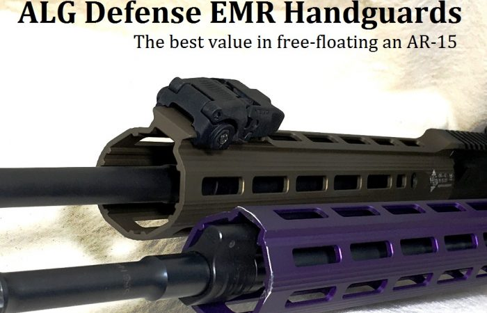 ALG Defense EMR Free-Floating Handguards: Best Value in AR15 Rails
