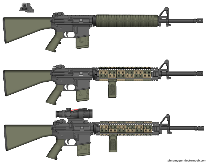A Visual Of My Next Ar15 S Configuration