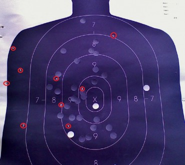 The B27 at 600 yards