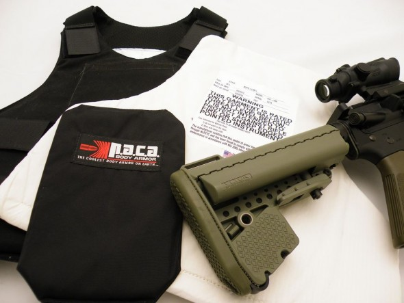 This Weeks Post at LoosRounds.com: Armor and your Rifle