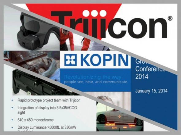 The Future of Combat Weapon Sights: Trijicon and Kopin Corp