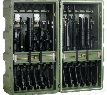 Need a Case to Hold Your 12 M16's? Pelican Has Your Answer.