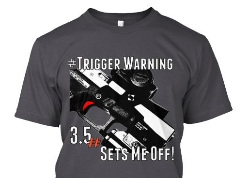 Trigger Warning! TNR's First Shirt for Pre-Order!