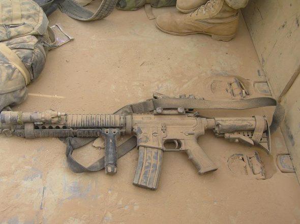 A Confident Rifle