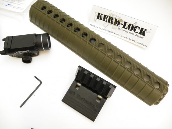 Kerm-Lock Universal Rail Adapter: Making Standard Hand-guards Modular Again